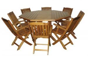 Sekizgen Masa Takımı